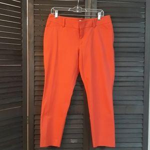 MERONA Stretch Red Pants Size 12